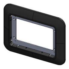 Victron GX Touch 50 adapter voor CCGX cut-out