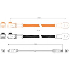 Kabelset voor verbinding met Multi/Quattro
